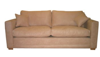 Fleming 3 seater sofa in faux suede