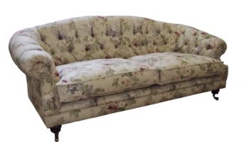 Hammond Chesterfield sofa in Sanderson Sorila2