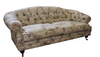 Hammond Chesterfield sofa in Sanderson Sorila2