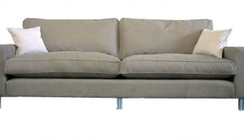 Huxley 4 seater sofa in faux suede