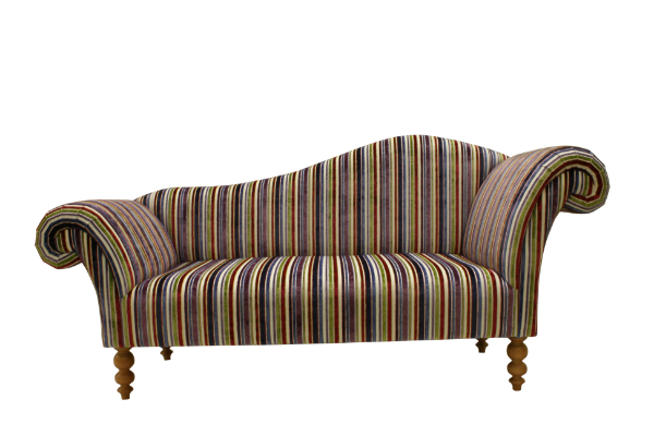 Double ended chaise longue in any leather and fabric the - Sofa piel chaise longue ...