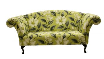 Regency Large Sofa Chaise in floral