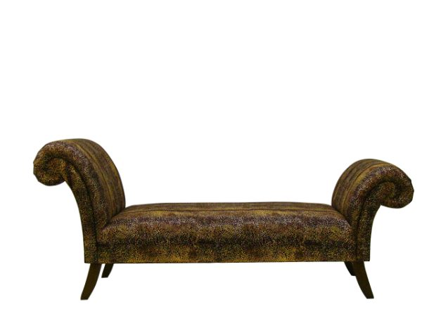 The handmade sofa company for Backless double ended chaise longue