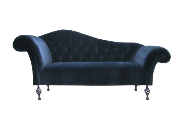 double ended chaise longue in any leather and fabric the