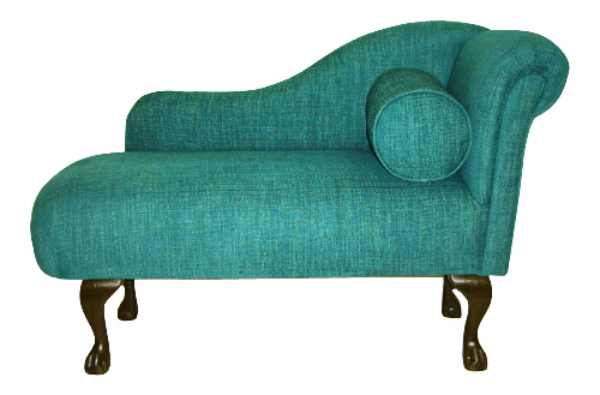 small chaise longue the handmade sofa company handmade chaise lounge. Black Bedroom Furniture Sets. Home Design Ideas