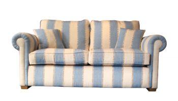 Salinger 3 seater sofa in Zaika stripe