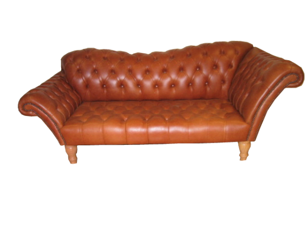 Walcott chesterfield chaise longues the handmade sofa - Chaise longue chesterfield ...