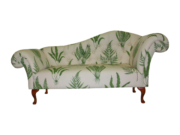 Double ended chaise longue in any leather and fabric the for Chaise longue double exterieur
